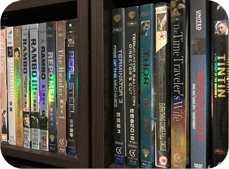 Movie DVD collections